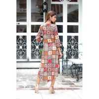 Ladies Handloom Cotton Kurti