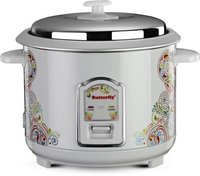 Butterfly RAGA Electric Rice Cooker  (1.8 L, White)
