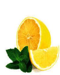 Lemon mint flavor