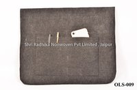 Buckle closure felt Laptop Sleeve