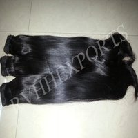 Wholesale Straight Natural Indian Temple Cuticle Aligned Human Hair