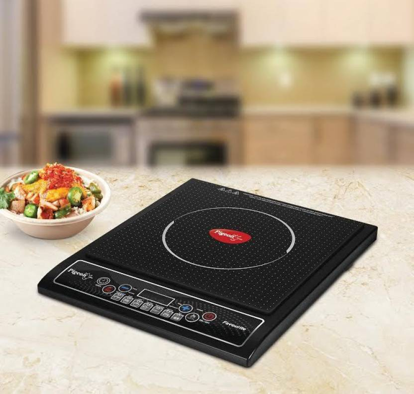 Pigeon Favourite IC 1800 W Induction Cooktop  (Black, Push Button)