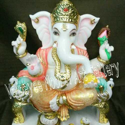 Ganesha Ji Marble Moorti