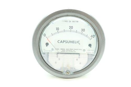 Series 4000 Capsuhelic Differential Pressure Gage