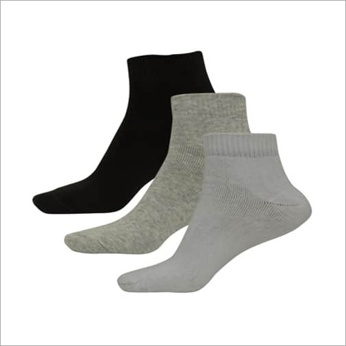 Ladies Plain Ankle Socks