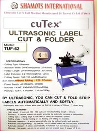 Ultrasonic Cut N Fold Machine
