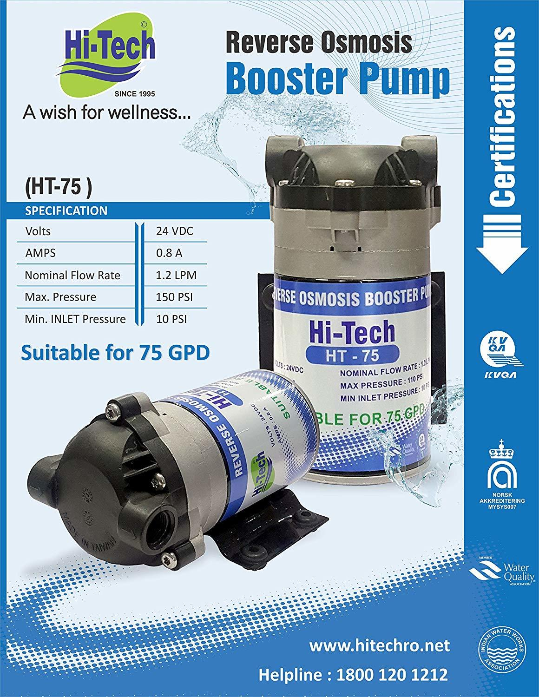 BOOSTER PUMP 75 GPD
