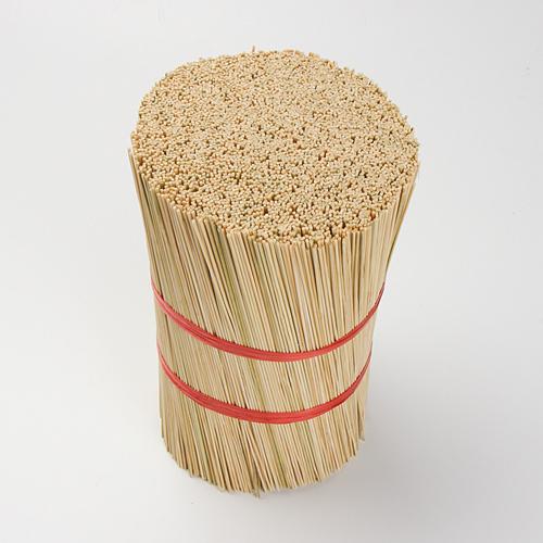 Round Bamboo Wood Stick