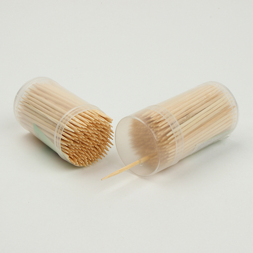 Tableware Bamboo Toothpick with Bottle