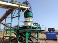 Cone Crusher and Impactors.