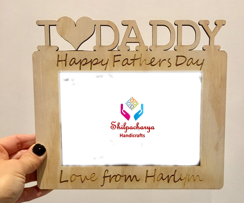 Personalized Photo Frame I love Daddy