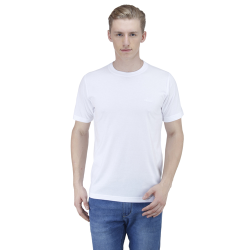 Round Neck Mens T Shirt (White)