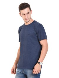 Round Neck Mens T Shirt (NAVY ATNTHRA)