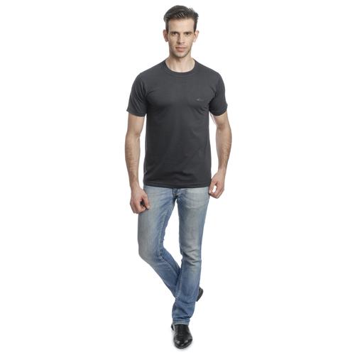 Round Neck Mens T Shirt (D. Grey)