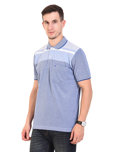 Sky Blue (Mens Polo T-Shirt)