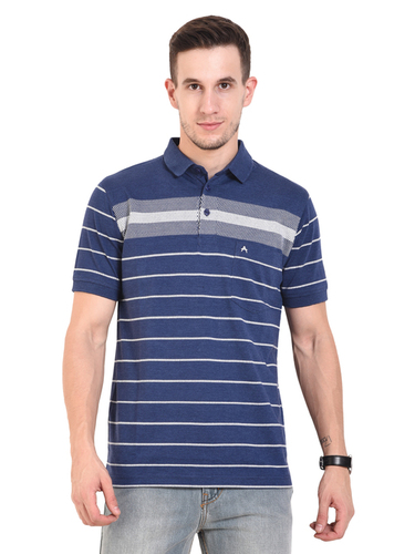 Navy Atnthra (Mens Polo T-Shirt)