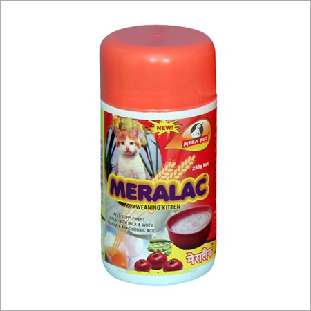 Meralac Kitten Food Supplement For Cat