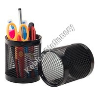 Mesh Pen Pencil Holder (Round)