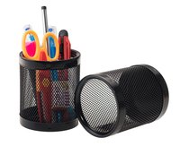 Kebica Mesh Wire Pen Pencil Holder (Round)