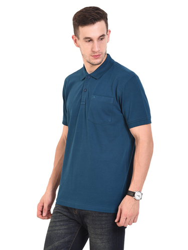 Mens POLO T-SHIRTS (TEAL)