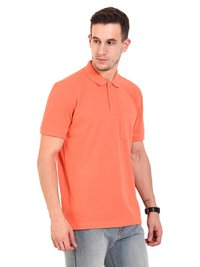 Mens POLO T-SHIRTS (Orange)