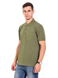 Mens POLO T-SHIRTS (M.Green)