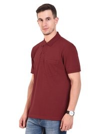 Mens POLO T-SHIRTS (Maroon)