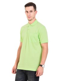 Mens POLO T-SHIRTS (Lime Green)