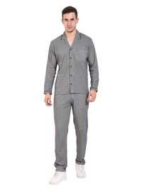 Mens Athlet Night Suit - NAVY