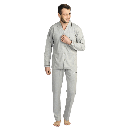 Mens Athlet Night Suit - L.GREY