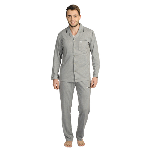 Mens Athlet Night Suit - DARK GREY