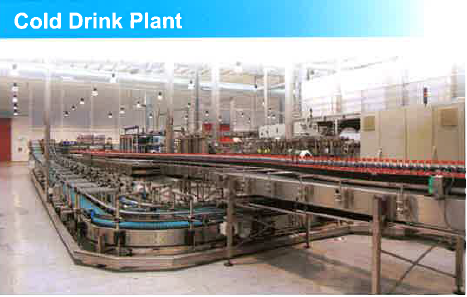 Cold drink Plant