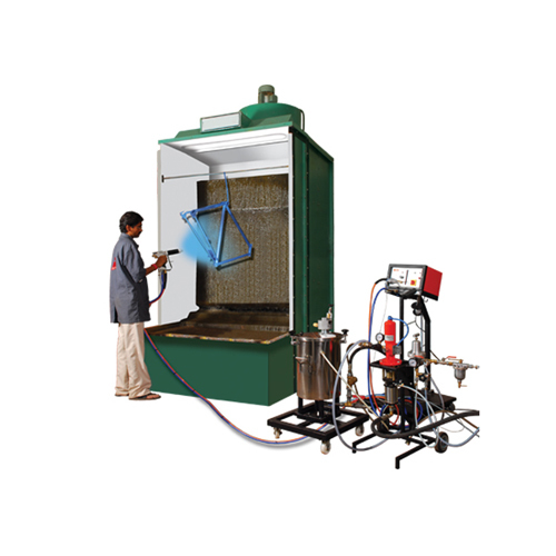 Liquid Painting Booth Equipment - RISHI ENTERPRISE, Plot No ... on