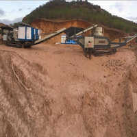 Track Mounted Mobile Stone Crushing Plant