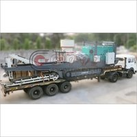 Semi Mobile Cone Crusher Machine