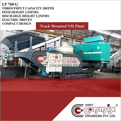 Track Mounted Mobile Crushing Plant