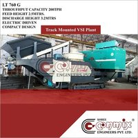 Track Mounted Mobile Vertical Shaft Impector