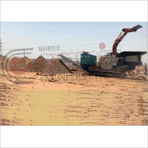 Track Mounted Mobile Jaw Crusher Plant