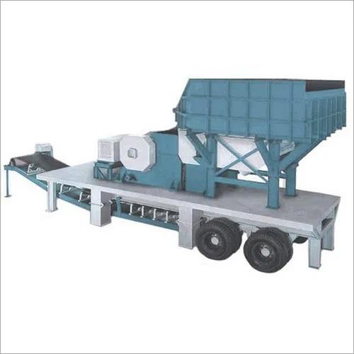 Semi Automatic Mobile Crusher Plant