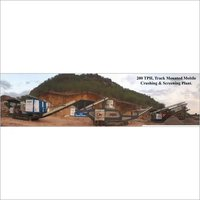 Crawler Mounted Crushing plant