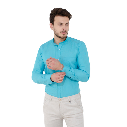 Men's Cotton Plain Shirt