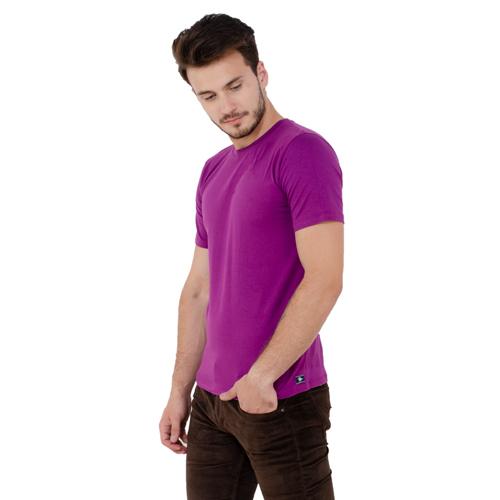 Men Plain Half Sleeve T-Shirt