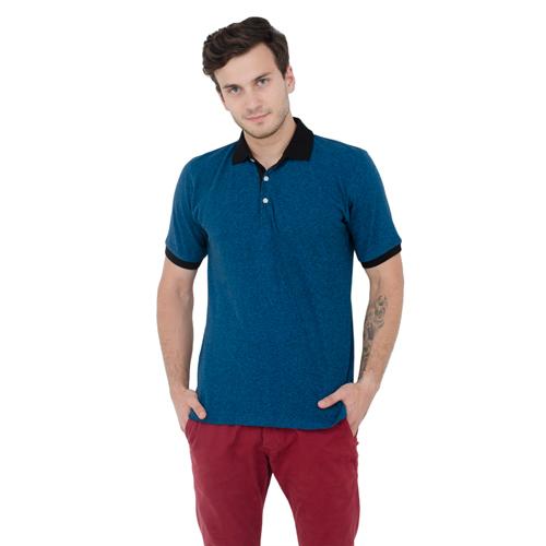 Men Round Collar T-Shirt