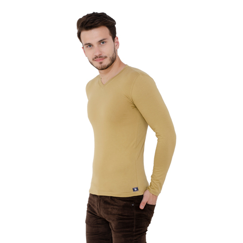 Men Round Full Sleeve T-Shirt