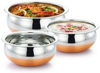 Jeeya Handi 500 L, 800 L, 1000 L  (Stainless Steel, Non-stick, Induction Bottom)