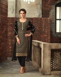 Designer Partywear Velvet Suit
