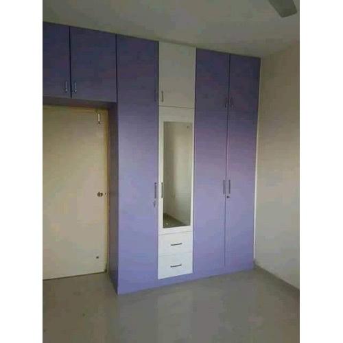 Wooden Plain Wardrobe
