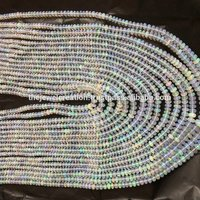 Natural White Ethiopian Welo Opal Smooth Plain Top Quality Beads