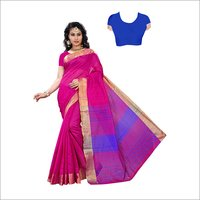 Cotton Silk Fancy Saree