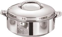 Kuber Industries Casserole Stainless Steel